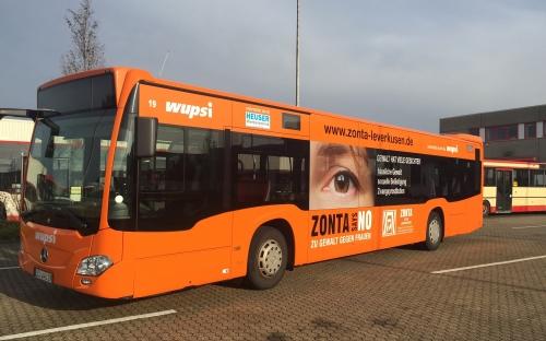 Der Bus wird auf allen Linien eingesetzt und daher alle Stadtteile durchfahren!