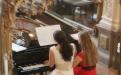 Das Klavierduo Praleski mit Katsiaryna Mikhal und Elmira Sayfullayeva